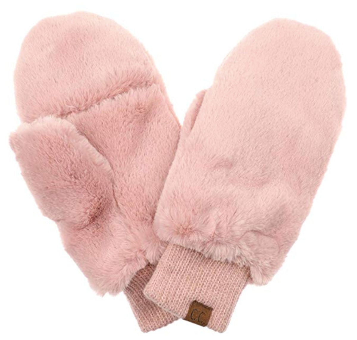 Funky Junque Faux Fur Mittens