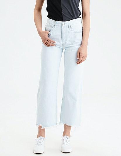 Wide Leg Crop Jean
