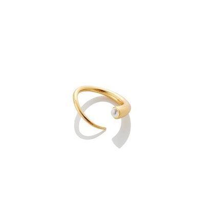 Quill Bypass Ring - Gold