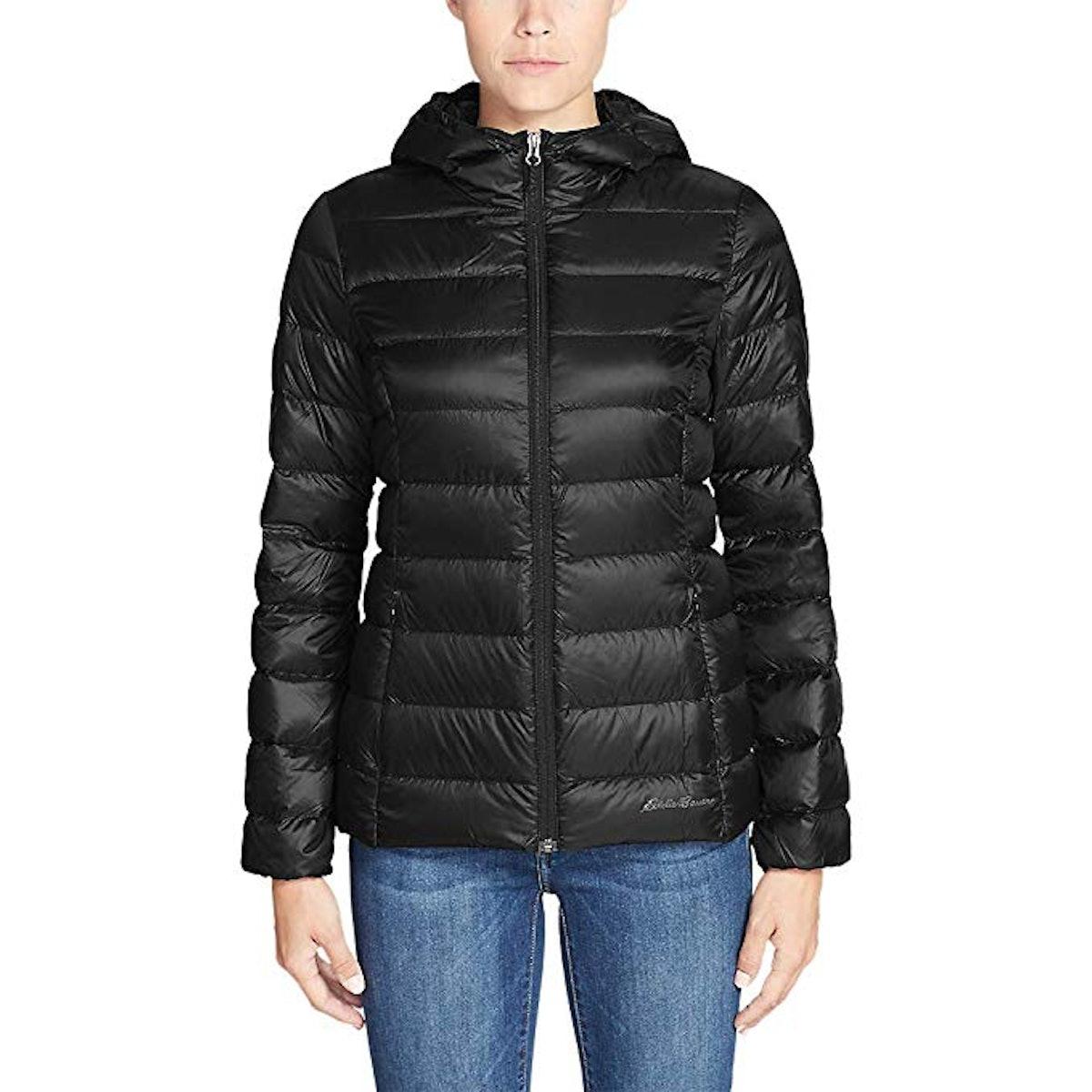 Eddie Bauer Women's CirrusLite Down Hooded Jacket