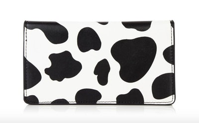 Cow Print Folded Purse