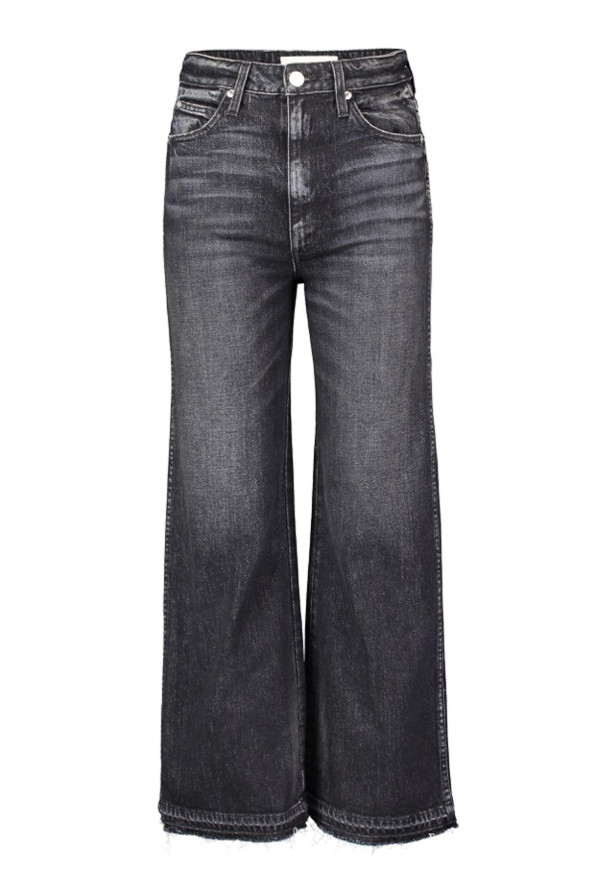 Ava Crop With Released Hem Jeans