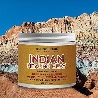 Majestic Pure Indian Healing Clay Powder