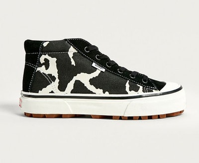 Vans Style 29 Mid DX Cow Print Trainers