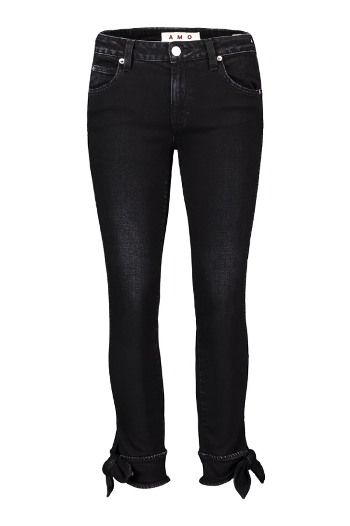 Tie Ankle Jeans