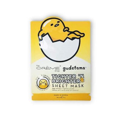 """Gudetama """"Tighter 'N Brighter"""" Sheet Mask"""