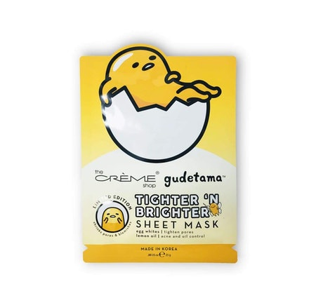 "Gudetama ""Tighter 'N Brighter"" Sheet Mask"