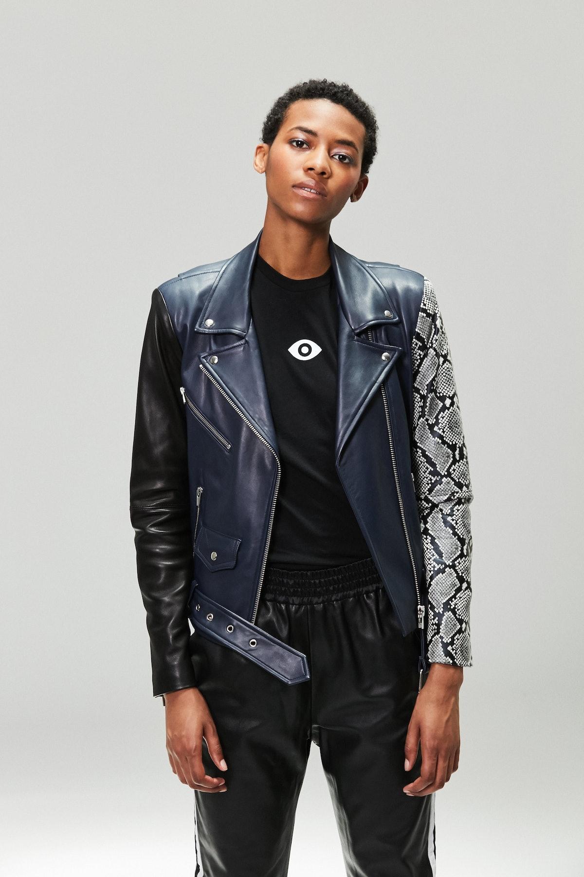 Jayne Leather Jacket