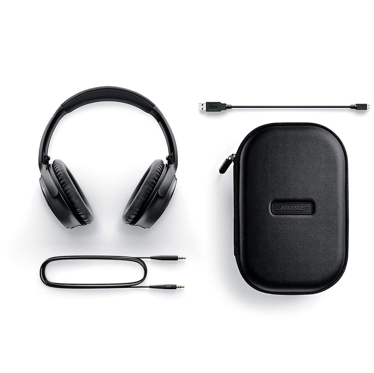 Bose QuietComfort 35 (Series II) Wireless Headphones, Noise Cancelling, With Alexa Voice Control - B...
