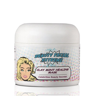 Beauty Facial Extreme Acne Treatment Clay Mask