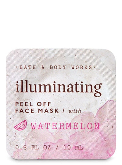 Illuminating Watermelon Peel Off Face Mask