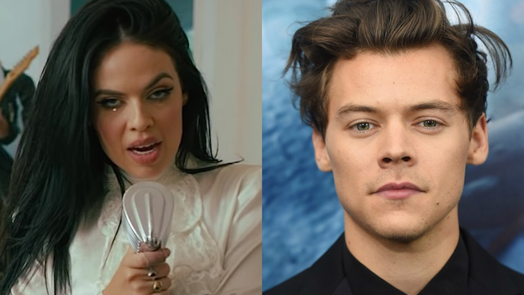 This Photo Of Singer Kelsy Karter S Harry Styles Face Tattoo Is A