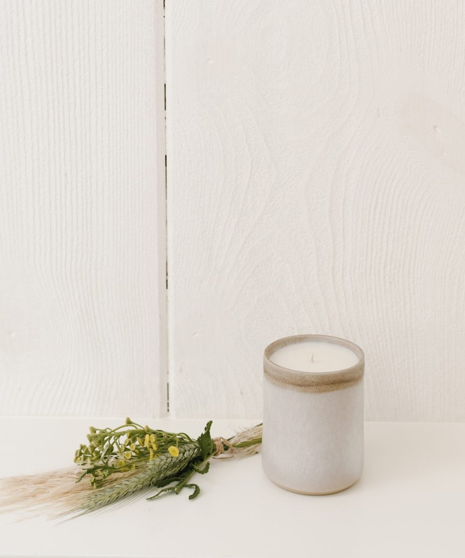 Jenni Kayne Sunset Ceramic Candle, Birch Bronze