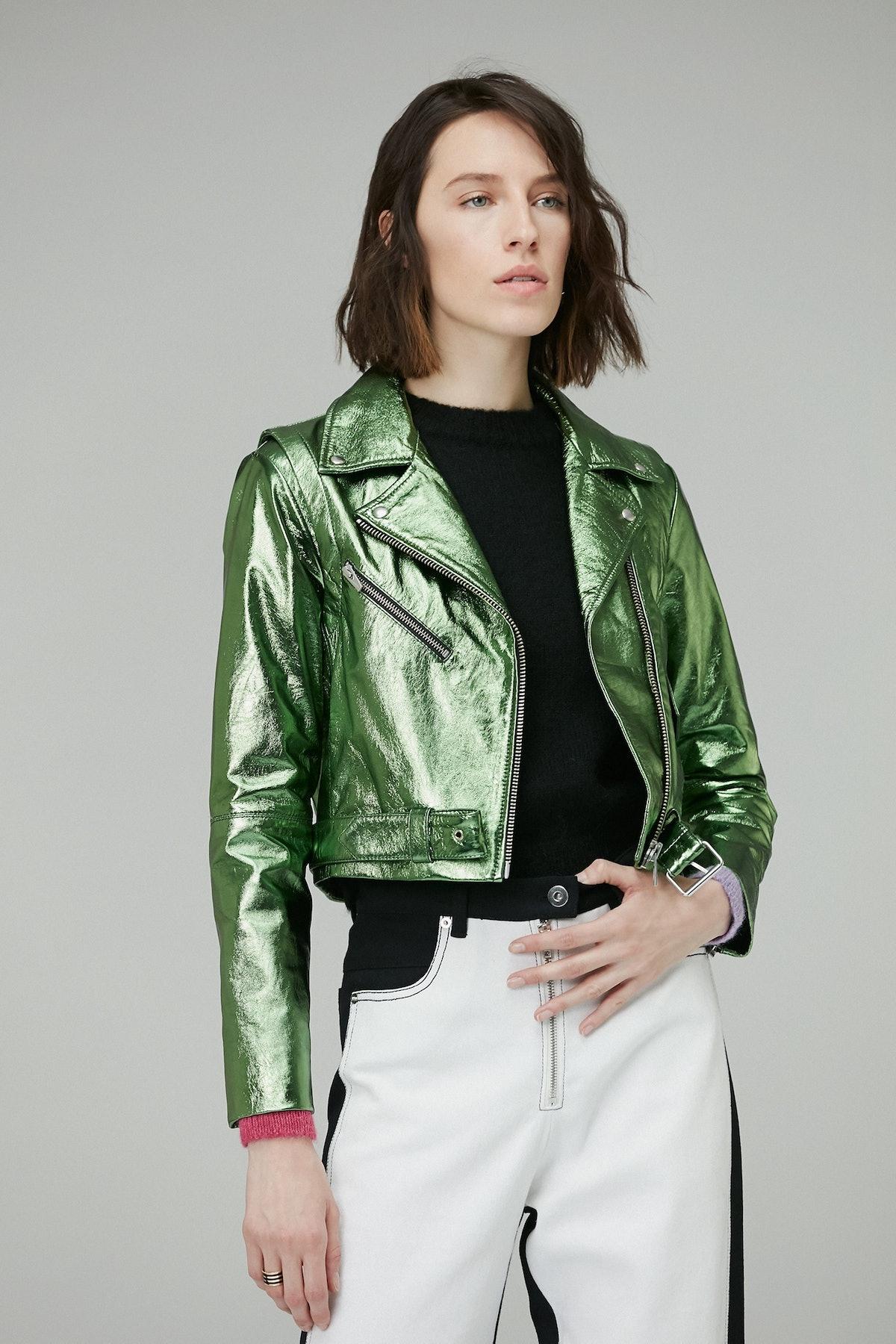 Baby Jayne Metallic Jacket