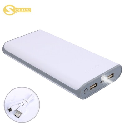 SOLICE Dual Portable Charger
