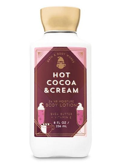 Hot Cocoa & Cream Super Smooth Body Lotion