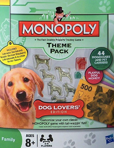 Monopoly Theme Pack Dog Lovers' Edition