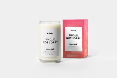 Single, Not Sorry Candle
