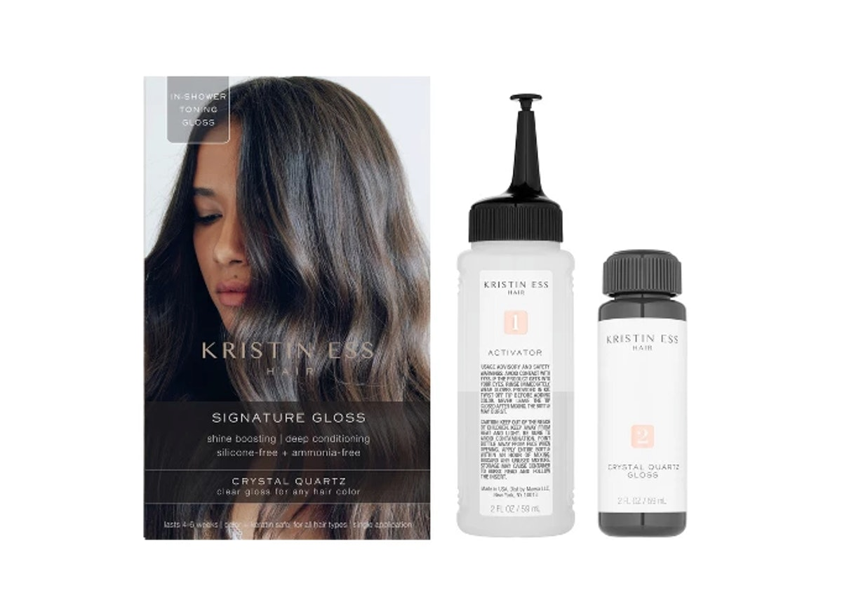 Kristin Ess Hair Signature Gloss Temporary Hair Color - Crystal Quartz
