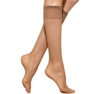 Silkies Women's Ultra Knee Highs(3 Pack)
