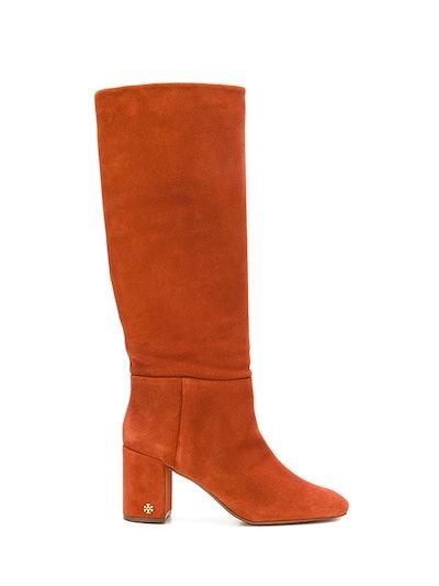 Chunky Heeled Boots