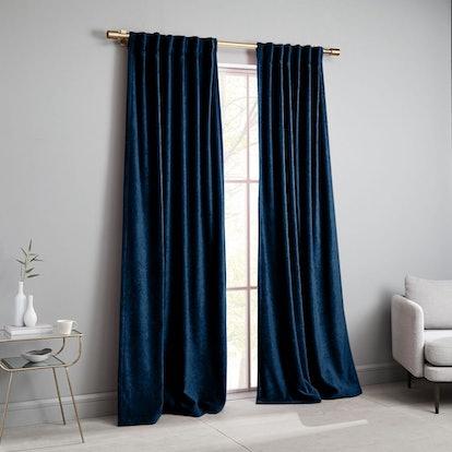 Worn Velvet Curtain