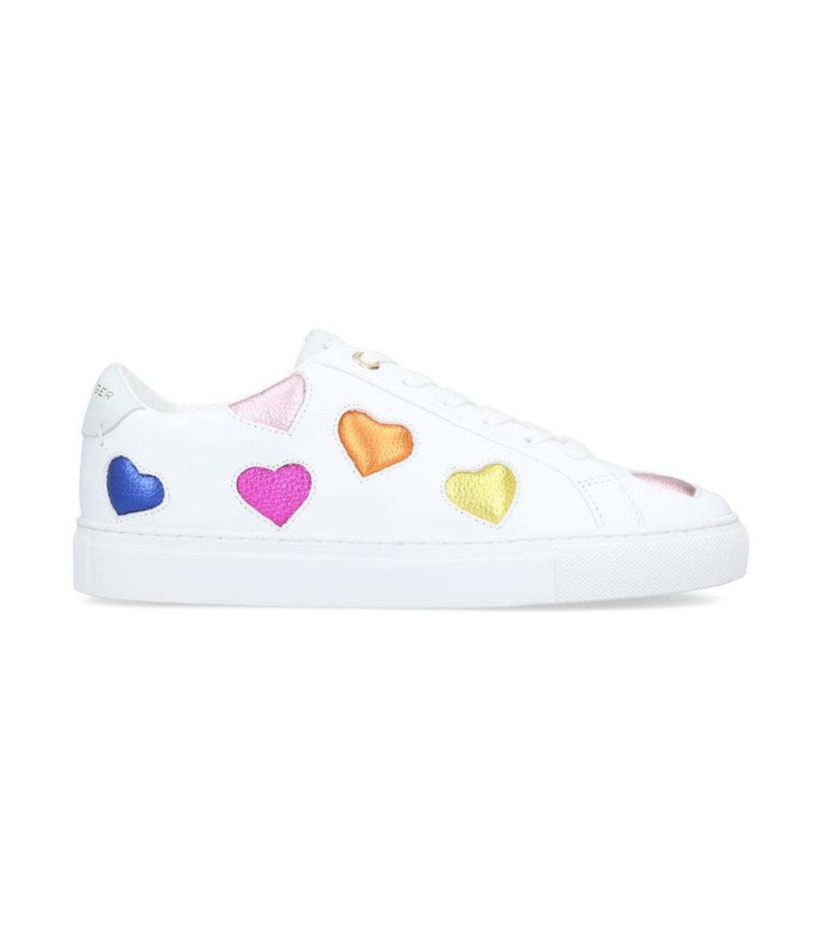 Kurt Geiger London Leather Lane Love Sneakers