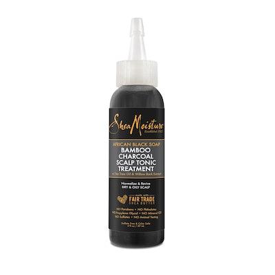 SheaMoisture African Black Soap Bamboo Charcoal Scalp Tonic Treatment - 2 fl oz