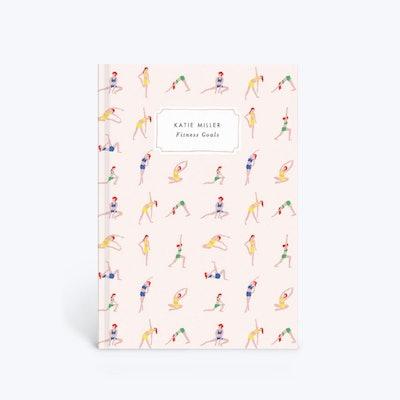 Papier Personalised Yoga Ladies Notebook