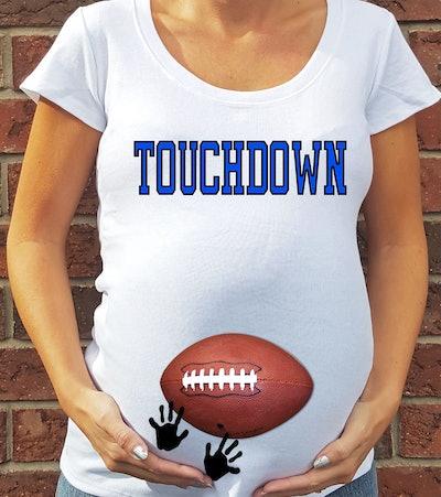 Touchdown Football Maternity Shirt