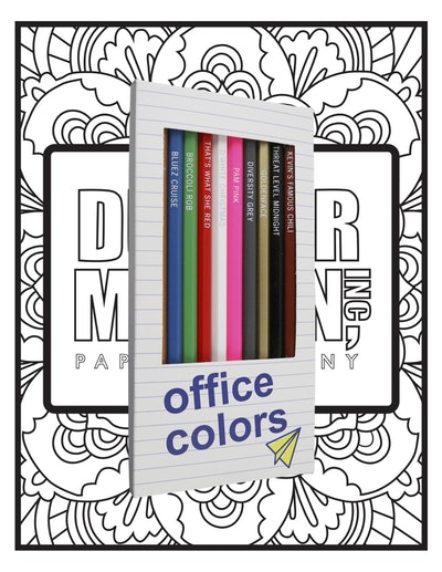 'The Office' Colors/Pages Bundle