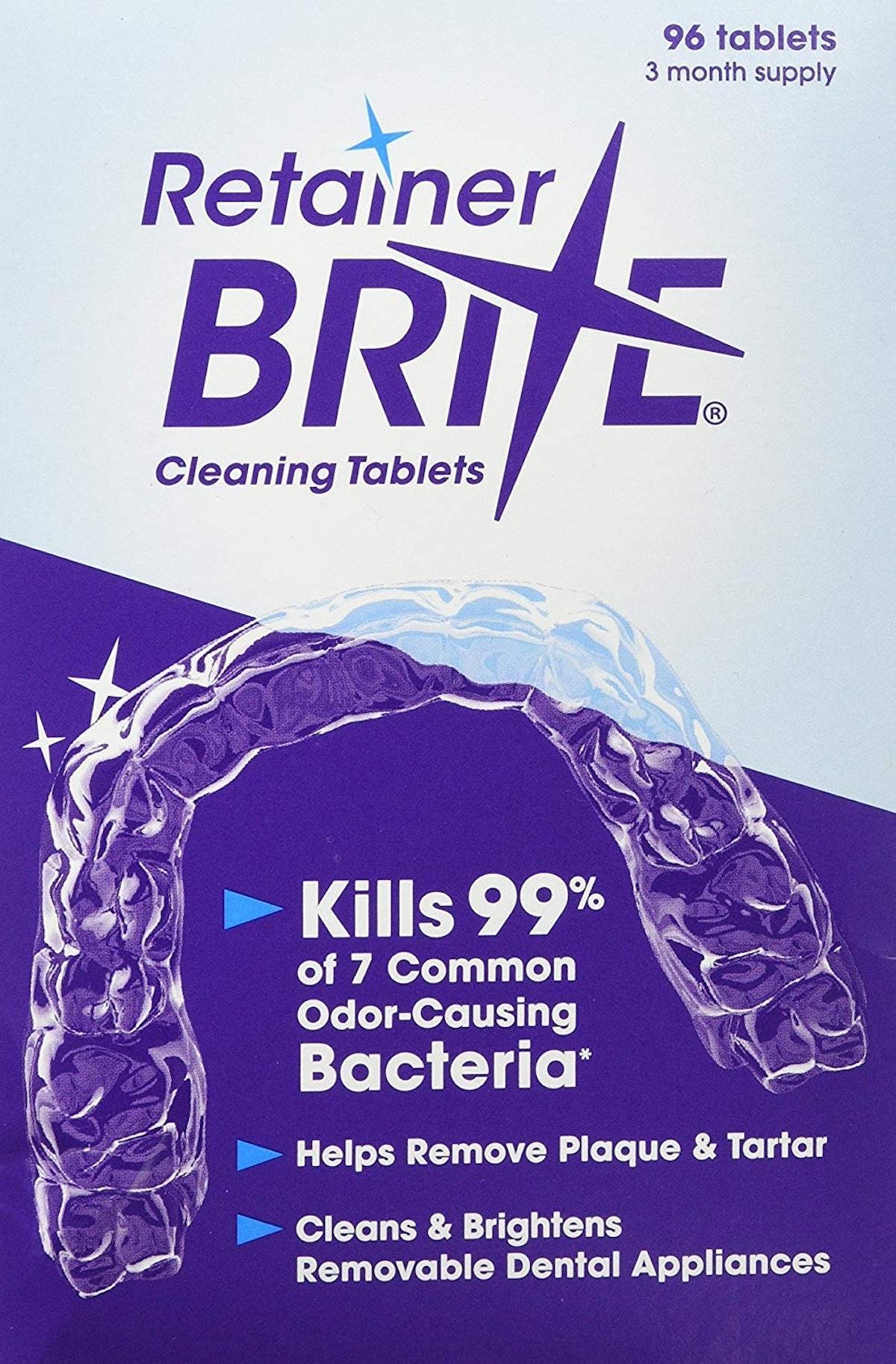 Retainer Brite 96 Tablets
