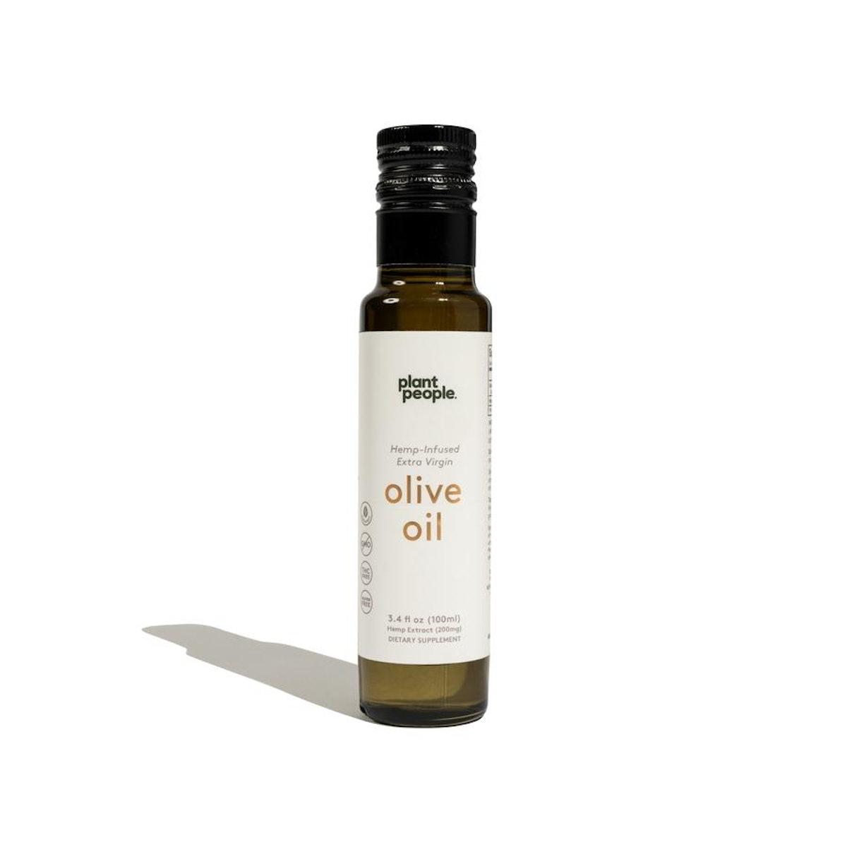 Plant People CBD Infused Extra Virgin Olive Oil
