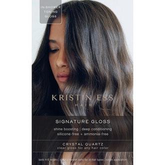 Signature Gloss Temporary Hair Color in Crystal Quartz