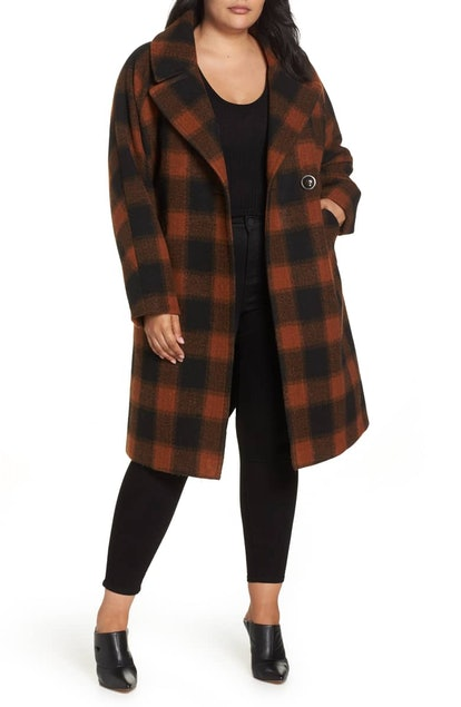 Oversize Boiled Wool Coat