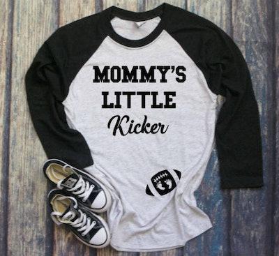Mommy's Little Kicker Shirt