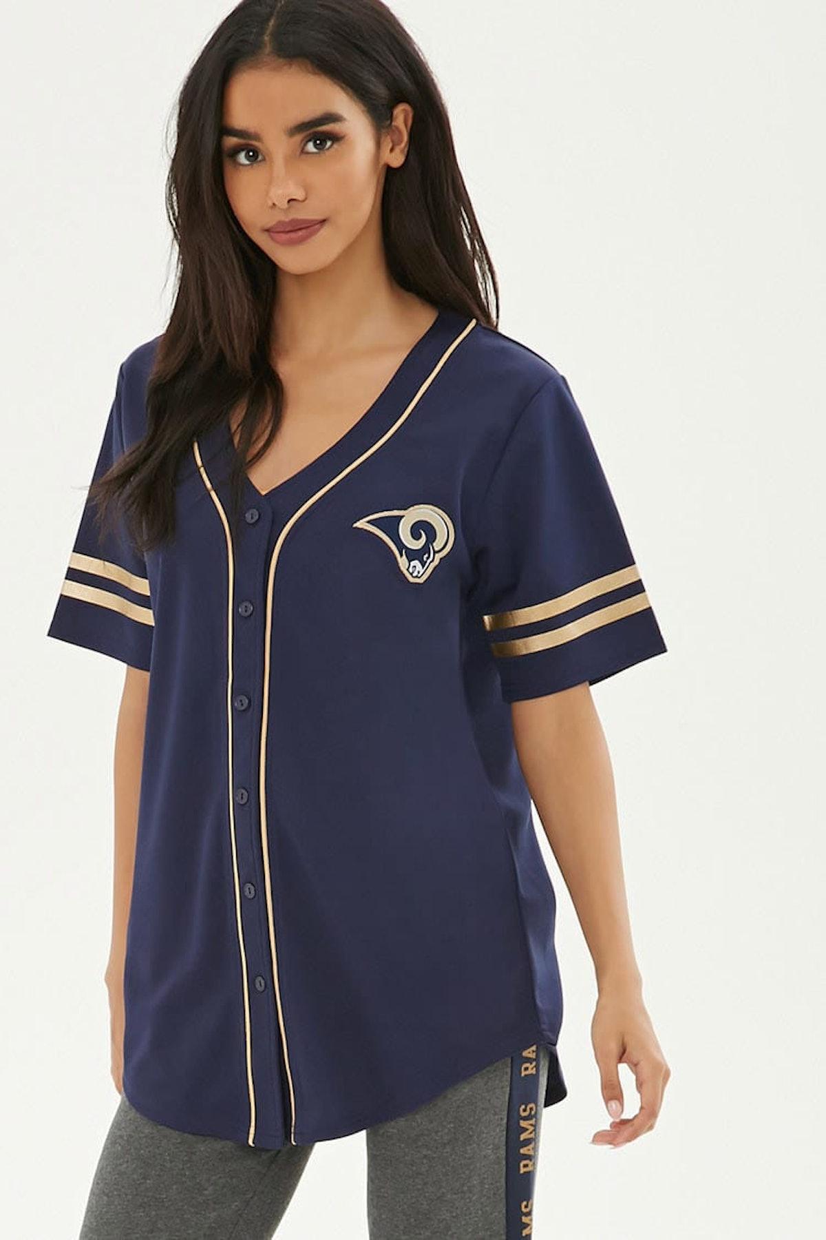 NFL Rams Baseball Jersey