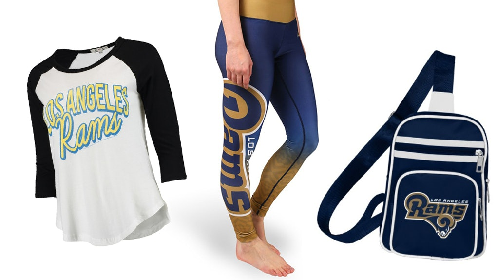 This Cute Rams Apparel For Women Will Help You Celebrate The Super Bowl In  Style 310b15bd5