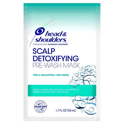 Head & Shoulders Scalp Detoxifying Pre-Wash Mask with Eucalyptus and Mint - 1.7 fl oz