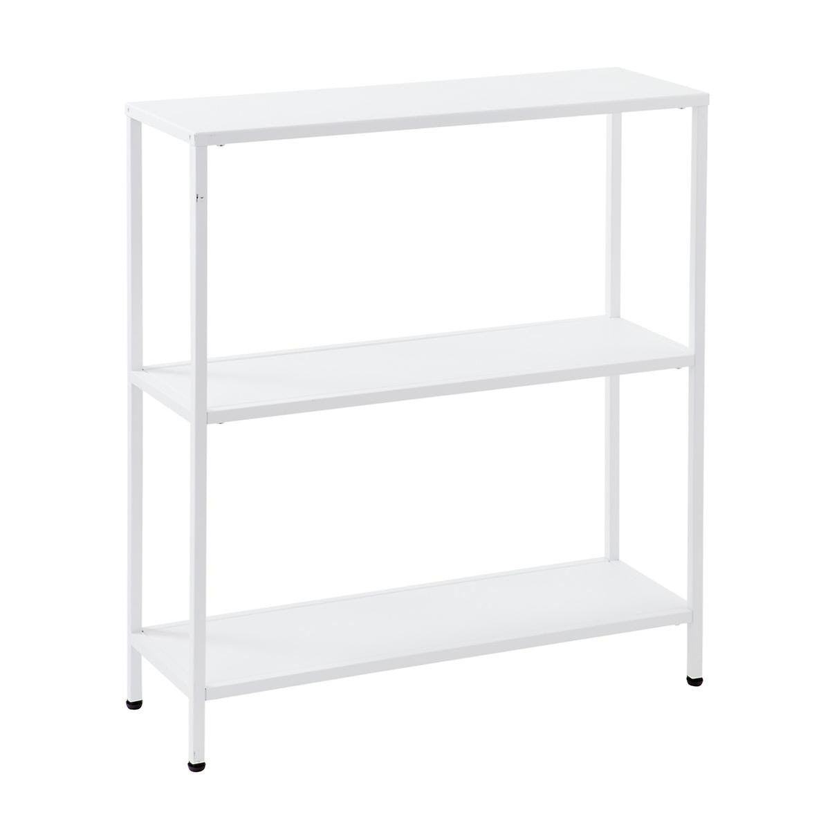 White Essence 3-Tier Console Table