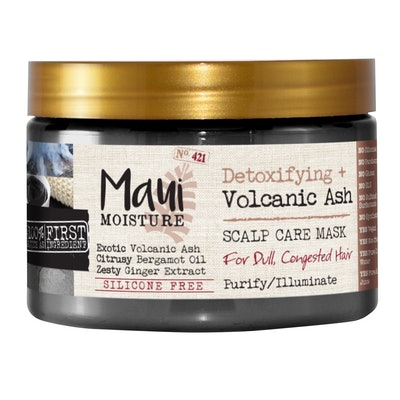 Maui Moisture Detoxifying + Volcanic Ash Scalp Care Mask for Dull and Congested Hair - 12 fl oz