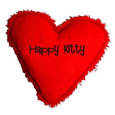 """Yeowww! Hearrrt Attract """"Happy Kitty"""" Cat Toy"""