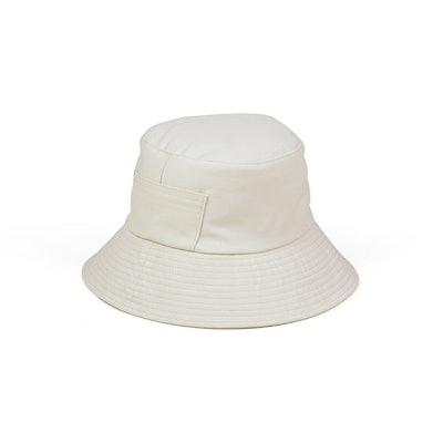 Wave Bucket Hat in Beige