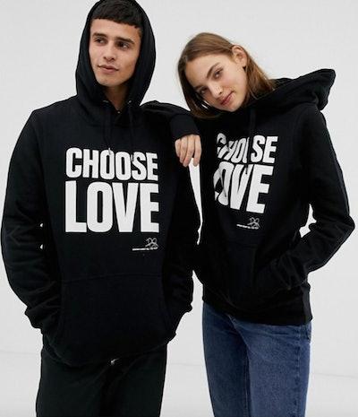 Help Refugees Choose Love Organic Cotton Hoodie