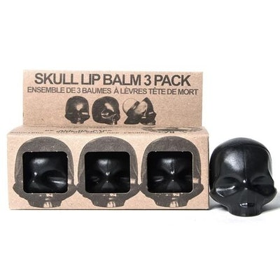 """Rebels Refinery """"Capital Vices Collection"""" Skull Lip Balm – 3-Pack"""
