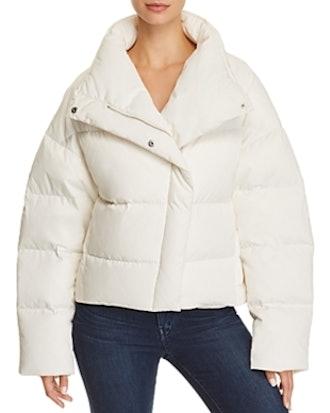 Offset Puffer Jacket