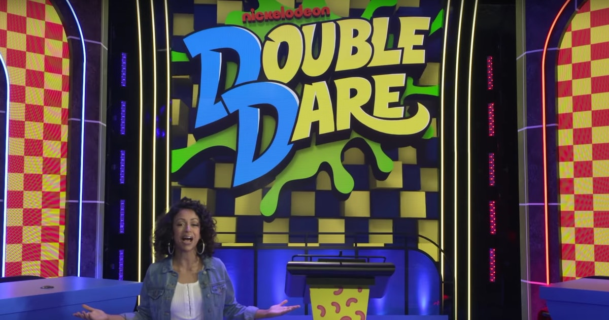 Nickelodeons Double Dare Had Their First Same-Sex
