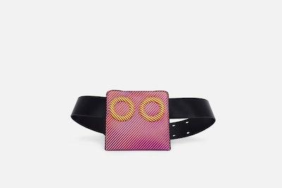Neon Stripe Deon Belt Bag