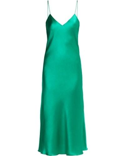 Jadi Silk-blend Slip Dress