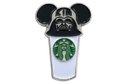 Darth Vader Starbucks Cup Pin